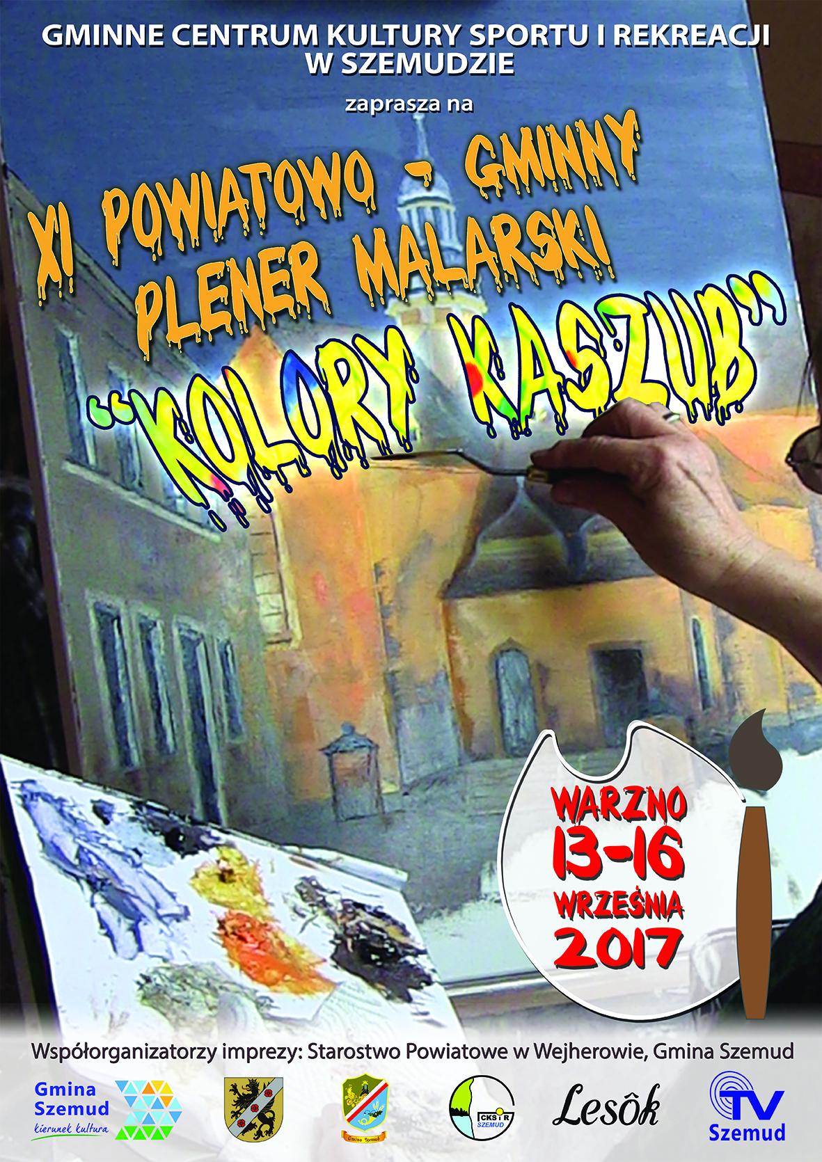 plener malarski 2017 plakat