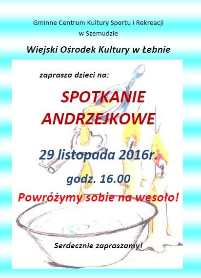 Andrzejki - WOK Łebno